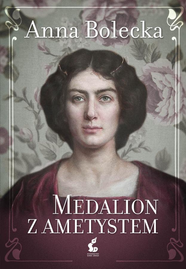 Medalion z ametystem