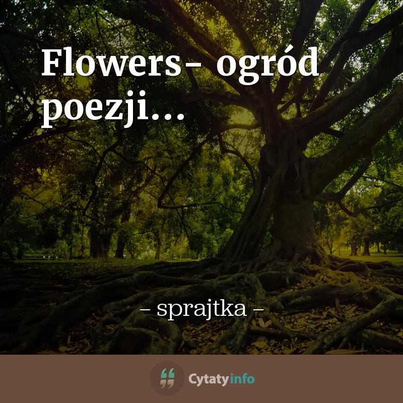 Flowers- ogród poezji...